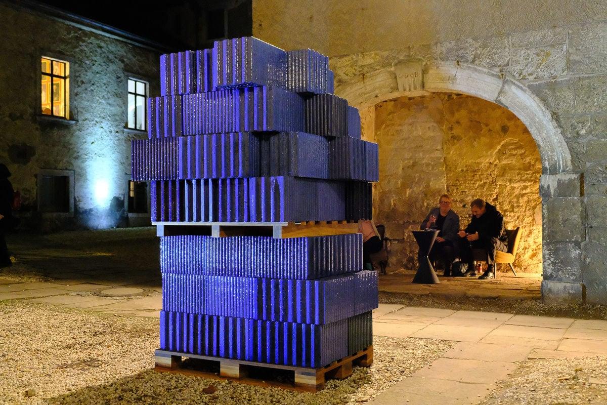 Eröffnung Arbeit von Sven Julien Kanclerski