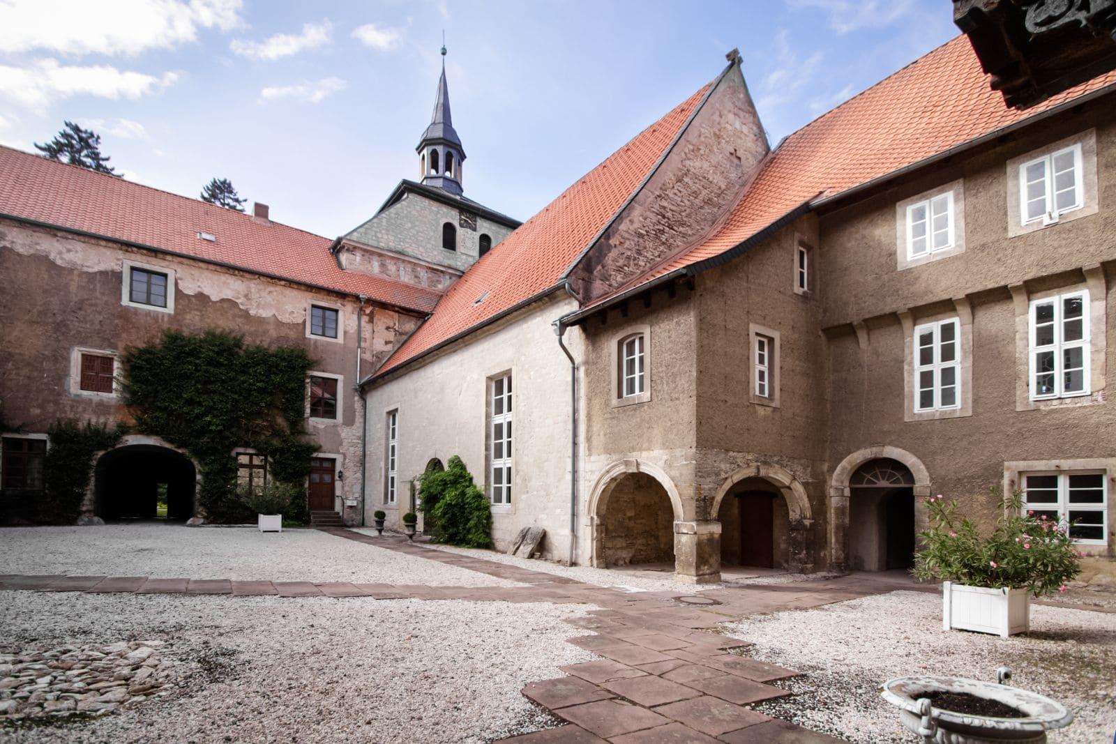 Innenhof Gutshaus