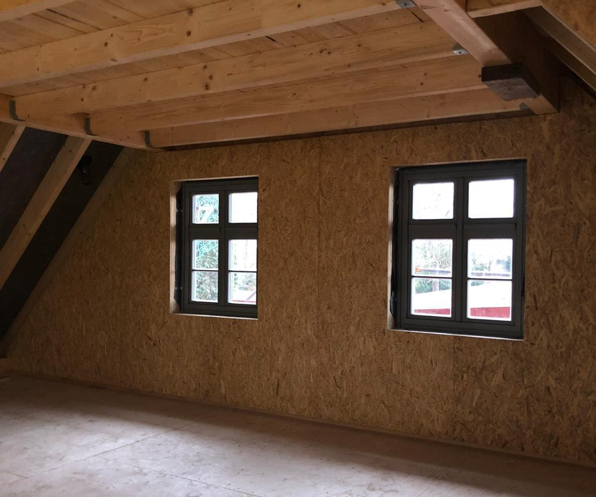 Forsthaus Rittergut Lucklum - neue Fenster