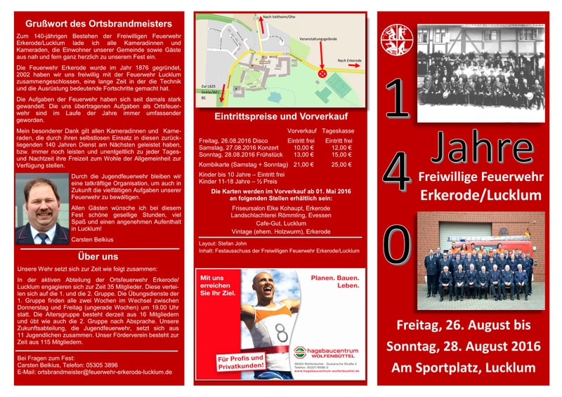 Feuerwehrfest Erkerode-Lucklum